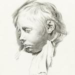 Sleeping boy by Jean Bernard (1775-1883). Original from The Rijksmuseum. Digitally enhanced by rawpixel. thumbnail