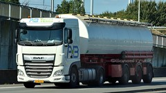NL - AB Texel DAF XF 106 SC (BonsaiTruck) Tags: ab texel daf lkw lastwagen lastzug silozug truck trucks lorry lorries camion caminhoes silo bulk citerne powdertank