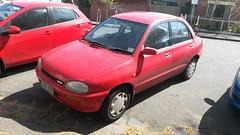 1991 Mazda 121 (DB) Sedan (ans.yu460) Tags: 1991 mazda 121 db sedan emb455