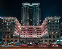 The Peninsula Hong Kong (mikemikecat) Tags: the peninsula hong kong 半島酒店 tsim sha tsui architecture historical building lunar new year mikemikecat nightscape night