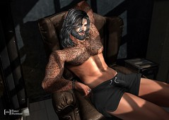 Two Steps From Hell 393 (Bruce Brennan) Tags: followers store native signature body mesh mainstore marketplace applier colour color texture hud persone sensuale sensual poses second life avatar beautifull catwa slfashion blogging bloggers portrait people photo picture spam snapshot virtuallifevirtualworld mancave tmd jail male men event