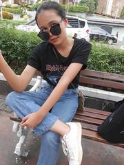 DSCN8886 (Avisheena) Tags: avisheena model black jeans ironmaiden photograph outfit tumblr girl hello world