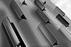 new window shutters (christikren) Tags: austria campus architecture blackandwhite bw building christikren facade fenster geometry lines monochrome modern noiretblanc österreich window shutters new canon abstract structures