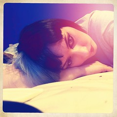 (colletteward1) Tags: makeup split selfie selfportrait lightanddark
