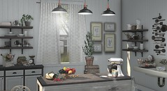 Minimal (Trixie Lanley) Tags: tmd secondlife homedecor kitchen fragments ariskea