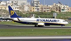 EI-EXD LMML 14-03-2019 Ryanair Boeing 737-8AS CN 40320 (Burmarrad (Mark) Camenzuli Thank you for the 17.2) Tags: eiexd lmml 14032019 ryanair boeing 7378as cn 40320