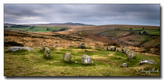 The Nine Maidens (jeremy willcocks) Tags: theninemaidens dartmoor devon ukjeremywillcocks©2019fujixt3xf1024mm landscape view colour nationalpark greatbritain england standingstones circle sky clouds fields jeremywillcocks wwwsouthwestscenesmeuk