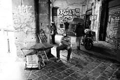 (Please Don't Wake Me, No Don't Shake Me) (Robbie McIntosh) Tags: leicam9p leica m9p rangefinder streetphotography 35mm leicam blackandwhite bw biancoenero bn monochrome autaut leicaelmarit28mmf28iii elmarit napoli sleep sleeper