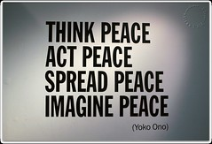 Peace (zweiblumen) Tags: peace johnlennon yokoono doublefantasy museumofliverpool liverpool merseyside england uk canoneos50d polariser zweiblumen