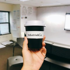 Something just make you smile 😊 #keepcup #work #company #branding #coffee