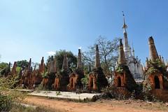 Nyaung Ohak pagodas, Inthein (23)
