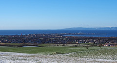Troon seen from Dundonald Hill (cmax211) Tags: troon dundonald hill ayrshire scotland clyde