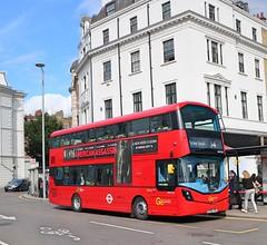 Go Ahead London General - WHV136 - BV66VHK (Waterford_Man) Tags: bv66vhk whv136 wrightbus hybrid goaheadlondongeneral