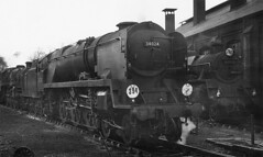 34024. (curly42) Tags: 34024 tamarvalley bulleid westcountrypacific steam 80139 riddlesstandardclass4 railway steamlocomotives basingstokeshed britishrailways southernregion