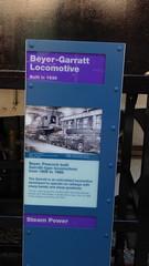 20181029 MMSI_0022 Beyer-Garratt Steam Locomotive Info Board (paul_slp5252) Tags: manchestermuseumofscienceindustry beyergarrattsteamlocomotive 1930
