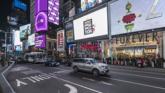 Times Square Pan TL 112118 UHD with music (Michael.Lee.Pics.NYC) Tags: newyork timessquare night video panning rotate lookingup duffysquare architecture advertising billboards videoscreens cityscape sony a7rm2 voigtlanderheliar15mmf45 syrpgeniemini