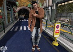 LOTD 346 (Brendo Schneuta) Tags: burley taketomi hair facial beard kalback pants jeans dutch bleich hevo coat indigo poses pose dubai event events fameshed menonly mom tokyo street shoes men male boy fatpack fashion estilo style moda second secondlife secondlifeblog sl blogger blog bloggersl releases new catwa bento brendo decoration keepcalm