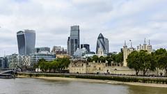 London from Tower Bridge [1517] (my.travels) Tags: london tower england thames skyscraper skyline britain greatbritain unitedkingdom city cityscape stmaryaxe fenchurch gb leadenhall nikon d7200