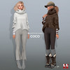 COCO New Release @my store (cocoro Lemon) Tags: coco newrelease oversized mohair sweater mesh secondlife fashion maitreya slink belleza