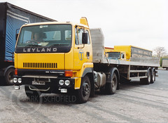 D574NOG LEYALND ROADTRAIN (Mark Schofield @ JB Schofield) Tags: road transport haulage freight truck wagon lorry commercial vehicle hgv lgv haulier contractor