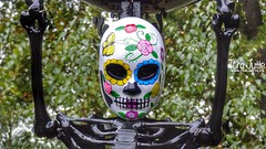 Dia de los Muertos, Burgers Zoo, Netherlands - 4614 (HereIsTom) Tags: webshots travel europe netherlands holland dutch view nederland views you nature sun tourists cycle vakantie fietsvakantie cycling holiday bike bicycle fietsen apple camera 8 mexico burgers arnhem day november the 31 october maya de halloween 2018 dia los of dierentuin aztecs muertos zoo 1 dead 2 sony dsc cybershot hx9v face festival