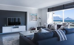 Classy modern living room, with blue and gray colors, that match perfectly. The view outside isn't that bad either, isn't it? #livingroom #bedroom #interior #interiors #interior123 #sofa #homedecor #furniture #myhome #interior4all #interiordecor #decorati (CoolHomeStyling) Tags: instagram ifttt