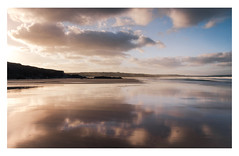 Gwithian Beach (Rich Walker Photography) Tags: beach gwithian cornwall godrevy beaches cloud reflection reflections symmetry canon england efs1585mmisusm eos eos80d sand water clouds sky landscape landscapephotography landscapes coast coastline coastal