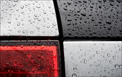 raindrops_porsche_detail_01_8773079227_o (wvs) Tags: downtown toronto building skyscraper texture brick reflection glass street ontario canada