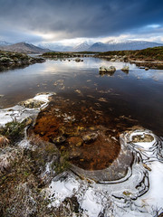 Frozen Lochan na h-Achlaise (Joe Dunckley) Tags: blackmount britain british grampianmountains greatbritain highland highlands lochaber lochannahachlaise rannochmoor scotland scottish scottishhighlands uk unitedkingdom westhighlands bleak empty frost frozen ice lake landscape loch lochan moor mountain nature water winter