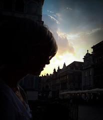 Exhale (D Fitzg) Tags: sun clouds face dawn