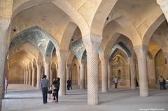 Vakil Mosque-Shiraz(IRAN) (hamid-golpesar) Tags: vakilmosque shiraz iran mosque owaysee indoor zandperiod farsprovince karimkhanzand islamicarchitecture architecture travel hamid hamidowaysee hamidgolpesar people