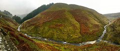 Snake Pass - 23-11-2018 (kevaruka) Tags: snakepass derbyshire yorkshire peakdistrict highpeak a57 road england mountain autumn november 2018 iphone iphone6s colour colours outdoor outdoors countryside green panoramic flickr frontpage thephotographyblog dull drearyday clouds cloudy cloud cloudyday