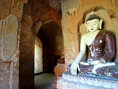 Inside a stupa in the Bagan Archaeological Zone (Claire Backhouse) Tags: myanmar burma burmese bagan archaeology archaeological old history religion culture buddha buddhism buddhist temple stupa