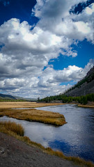Clouds (jennbastian) Tags: clouds reflection landscape yellowstone nationalparks wyoming