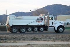 Johnny B's Trucking (ashman 88) Tags: peterbilt dumptruck truck semi bigrig 6axledumptruck johnnybstrucking