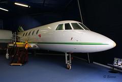 Dassault Falcon 20 ~ probably F-GKDB (Aero.passion DBC-1) Tags: dbc1 david biscove aeropassion avion aircraft aviation plane lbg bourget dassault falcon 20 ~ probably fgkdb