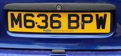 M636 BPW (2) (Nivek.Old.Gold) Tags: 1995 ford escort 18 16v si cabriolet busseys norwich eama