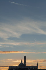 Today morning in Siena (Antonio Cinotti ) Tags: nuvole clouds toscana tuscany italy italia siena sienna alba sunrise duomodisiena dawn cathedral nikon nikon1755 nikond500 d500