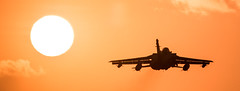 Tornado Sunset (Steve Cooke-SRAviation) Tags: 15sqn panavia raf 500mm tornadogr4 sunset stevecooke marham lightningll tornado sraviation 31sqn canon 100400mm 5d4 tonka