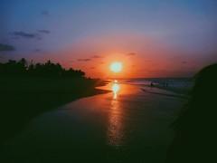 sunset in são luis (primaveraepoeta) Tags: sunset pôrdosol beach peace relaxing travel wanderlust summer sun brazil brasil sãoluís