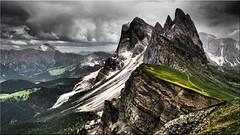 The Seceda in South Tyrol (Ostseetroll) Tags: geo:lat=4660079382 geo:lon=1172686705 geotagged ita italien seceda stulrich südtirol secëda secèda dolomiten dolomites dolomiti altoadige alpen alps berge mountains olympus m10markii