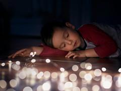 November Lights (agirygula) Tags: light dream dreamy boy led november winter closedeyes child kiddo childhood magig bokeh canon 50mm