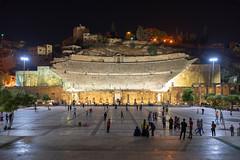Roman theater in Amman (George Pachantouris) Tags: jordan hasemite petra aqaba amman middle east travel tourism holiday warm capital arab arabic roman theater