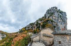 Convent of Agia Paraskevi (George Plakides) Tags: zagori monodendri zagoroxoria convent agiaparaskevi vikosgorge autumn pano panoramic monastery