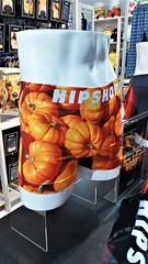 happy to see you (SqueakyMarmot) Tags: travel asia japan hokkaido narita airport underwear pumpkins