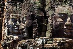 """the serenity of the stone faces"" (Matilda Diamant) Tags: bayon rusalka khmer temple angkor cambodia architecture sculpture decoration 12th 13th century mahayana buddhist king jayavarman vii mythological historical buddhism religious asian asia serenity stone faces"