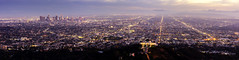 No angels, but a big city (Tony Shi Photos) Tags: la losangeles california griffithpark mounthollywood hollywood mthollywood griffithobservatory skyline los angeles panorama vista