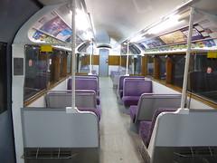 Interior of Island Line 423 008 (Alex-397) Tags: iow isleofwight england britain island uk train transport tube londonunderground islandline class483 1938stock travel