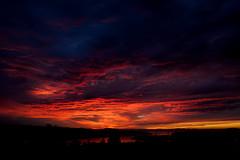 Burning Sky (Journey CPL) Tags: sunrise sun clouds fire firey burn burning red blood bloody usa scenic landscape dawn