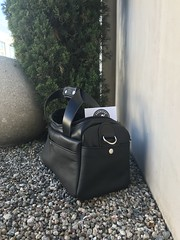 IMG_3218 (americanleathersmith) Tags: carholster leatherholster gunholster concealcarry holster mounted leather sportsmanbag rangebag shooting range leatherbag bag